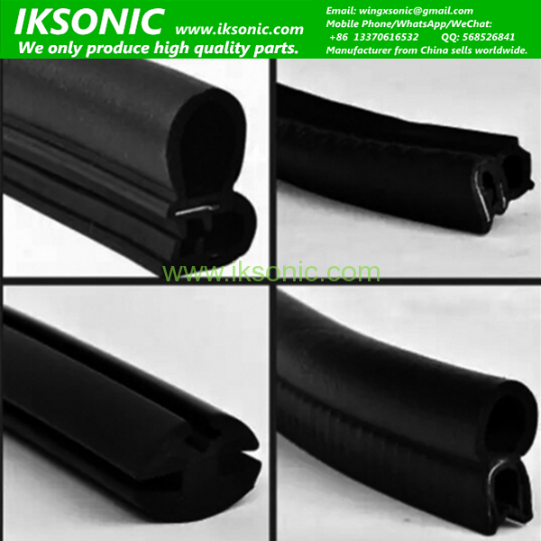 car window rubber seal	  Universal car window EPDM rubber seal stripIKSonic Leading ...