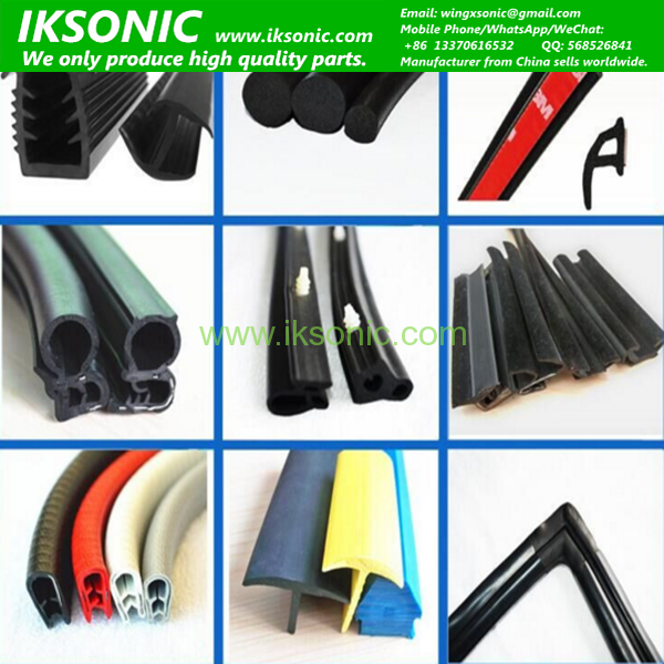 Rubber Strip Door Seal Used For Car Door And Windowiksonic