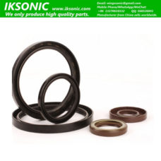 Brown double lips oil seal NQK Oil Seal Manufacturer Shanfeng