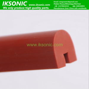 High temperature heat resistant U type silicone rubber seal strip