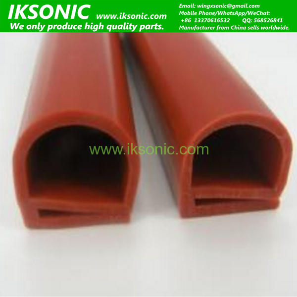 High Temperature Heat Resistant U Type Silicone Rubber