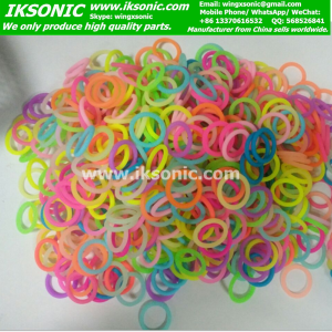 AS568 standard colored silicone o ring manufacturer