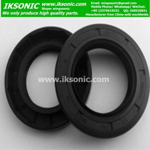 Nitrile rubber TC double lips oil seal supplier