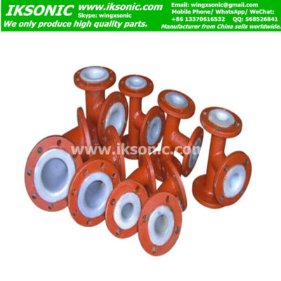 PTFE-Lined Piping Fittings Corrosion-Resistance plastic lined carbon steel pipe