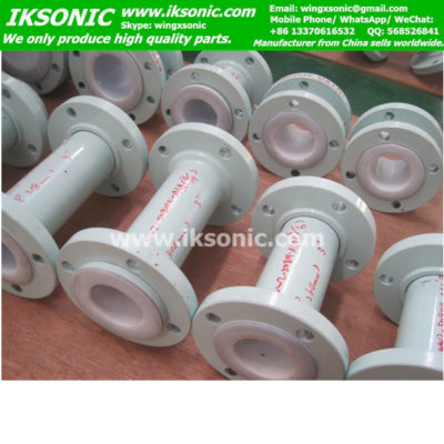 PTFE lined pipe Teflon lined fittings PFA lining seamless steel pipe PIPE Factory www.iksonic.com