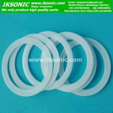 White PTFE teflon flat sealing gasket washer