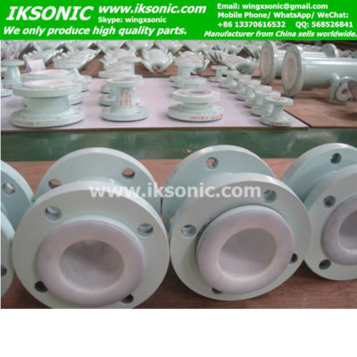 ptfe lined carbon steel pipe fitting specification China manufacturer IKSONIC
