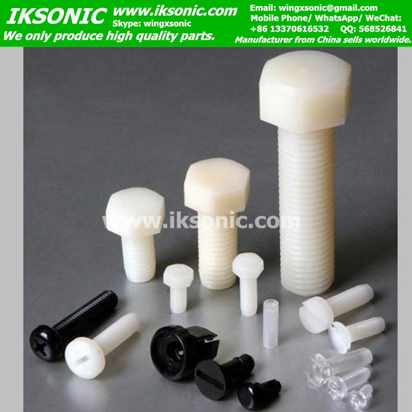 Teflon PTFE Screws PTFE Bolts PTFE Nuts