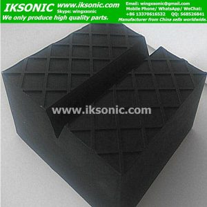 Rubber damping block
