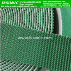 5mm thickness green grass conveyor belt pvc conveyor belt factory