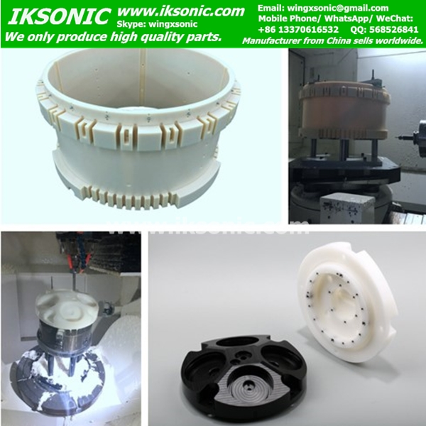 PTFE parts Precision processing of engineering plastics cnc machining molded plastic