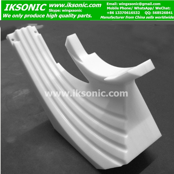 any shape PTFE parts cnc machining teflon parts factory