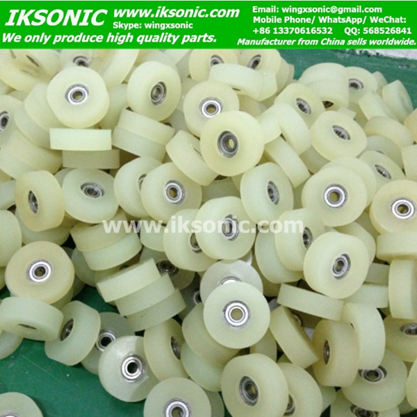 rubber to metal bonding Polyurethane bearing wheel parts