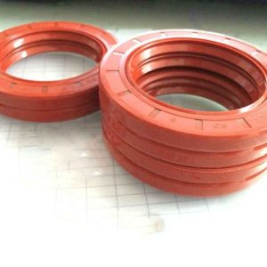 Food grade red silicone oil seal for food industry